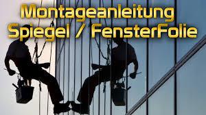 Easy Spiegel Fensterfolie Montageanleitung Von Tiptopcarbon