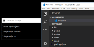 The Visual Studio Code command-line options