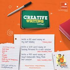 you have just arrived promo blog by gloria gtbank sks creative gtbank sks creative writing contest be part of gtbank s sks children s essay competition