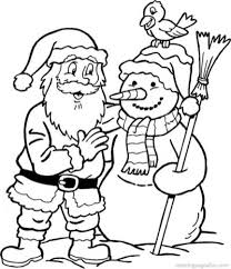 100% free christmas coloring pages. 20 Free Printable Santa Coloring Pages Everfreecoloring Com