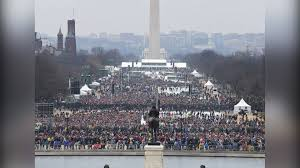 trump inauguration crowd size fox trump inauguration size comparison of trump vs obama crowds