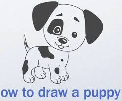 Small Picture How to Draw a Cute Puppy Step by Step My Kawaii Home