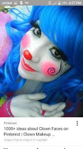 Girl Clown Face Designs Pin By Luana Laskey On Clown Face Painting Cute Clown