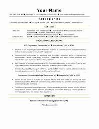 Medical Secretary Resume Template Finance Resume Format Beautiful Medical Secretary Resume Examples 15