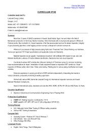 Chandra Babu Battu Structural / Piping QC Inspector CURRICULUM VITAE  CHANDRA BABU BATTU Lamprell Energy Limited ...