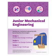 Balloon Car Design Challenge Girl Scouts Junior Mechanical Engineering Badge Requirements