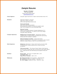6 Resume Template High School Graduate Budget Reporting