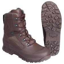 Haix Size Chart Haix Boot Combat High Liability Brown B Stock