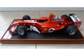 A great deal of time and attention was paid to making the most of the new materials and to optimising the various design. An Amalgam Ferrari F2004 1 8 Scale Fine Quality Collectors Limited Edition Model As Raced By Mic