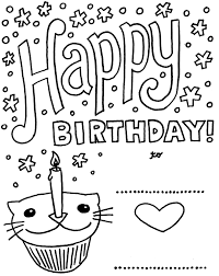 Small Picture Coloring Pages Birthday Cards Happy Birthday Balloon Online