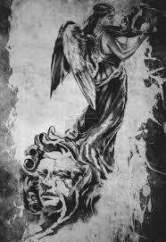 Fotka Tetování Anděl Hrající Na Housle 80289004 Fotobanka Fotkyfoto