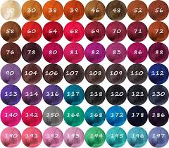 Adore Semi Permanent Hair Color Chart Eco Style Super Protein Gel Hair Crown Beauty Supply