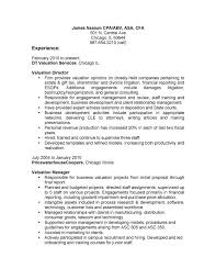 bullet point resume