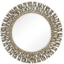majestic mirror large round antique silver decorative beveled regarding large round wall mirrors 14