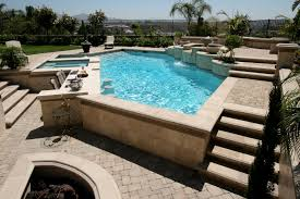 Pool designs with swim up bar Backyard Pool Geometricpoolspaswimupbarwaterfeatures Mission Pools Orange County Contemporary Geometric Pool San Diego