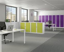 contemporary office storage. Bright Modern Office Interior Contemporary Storage