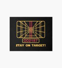 stay on target star wars t shirt art board on star wars wall art target with annakin skywalker wall art redbubble
