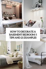 how to decorate a basement bedroom 5 tips and 21 examples cover