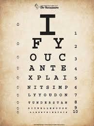 Einstein Eye Chart Ii Eye Chart Home Quotes Sayings