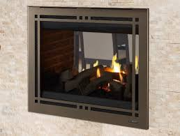pearl ii see through direct vent gas fireplace
