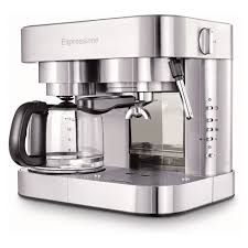 There are many small coffee makers with great features that will meet your needs. Combination Espresso And Coffee Maker Espressione Target