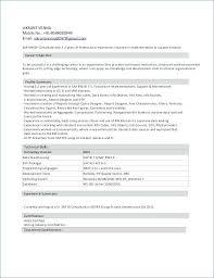 Sap Fico Sample Resume Sap Fico Sample Resume Sample Resume Formats Format For Freshers Sap