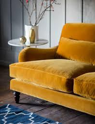 mustard yellow velvet sofa ezhanduicom