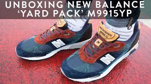 new balance yard pack. new balance 991.5 yard pack sneaker unboxing | on feet styling the collections llomotes 6