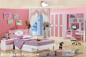 kids bedroom for teenage girls. Unique Girls Pink MDF Teenage Princess Girl Kids Bedroom Furniture Set With 3Door  Wardrobe Nightstand Bookcase Throughout For Girls G