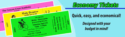 Samples Of Tickets For Events Event Ticket Printing