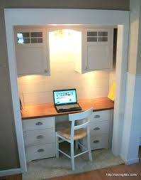 office in a wardrobe. Wardrobes: Home Office In A Wardrobe Design Closet Turned Reveal N