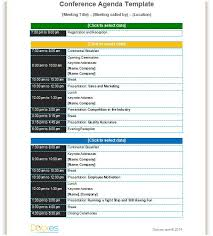Workshop Agenda Template Choice Image - Template Design Free Download