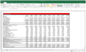 Create Excel Template Income Statement And Balance Sheet