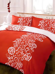 red and white duvet cover sets