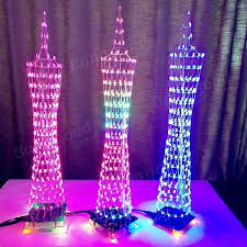 diy led lighting. DIY LED Light Cube Canton Tower Suite Wireless Remote Control Electronic  Kit-in Replacement Parts \u0026 Accessories From Consumer Electronics On Aliexpress.com Diy Led Lighting