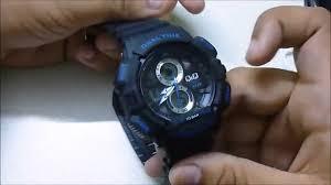 q q analog digital watch unboxing in flipkart com