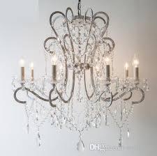 regron modern chandeliers lamp led iron chandelier american style paste hanging lighting re bedroom living room villa deer antler chandelier drum