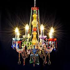 well known colourful chandeliers pertaining to gypsy chandelier lh79 be fabulous view