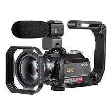 Ordro AC5 Video Kamera Camcorder 4K Professionelle 12X Optische Zoom für  YouTube Vlog Blogger Live-Streaming Dreharbeiten - 35% OFF