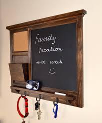 nice wall mounted mail organizer