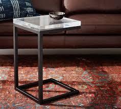 barton acrylic top c table