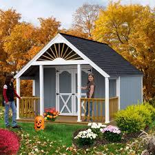 garden shed kits. Amazon.com: Best Barns Garden Shed 12\u0027 X 16 Kit Plus 4\u0027 Porch: Home \u0026 Kitchen Kits