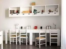 Kids Desks IKEA Design With White Cabinet
