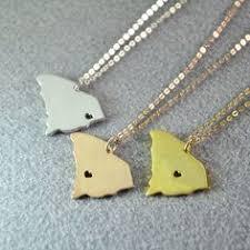 south carolina necklace state necklace south by yjhandmade on etsy map necklace state necklace