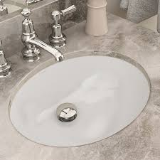 undermount bathroom sink oval. Perfect Bathroom Carlyn Classically Redefined Ceramic Oval Undermount Bathroom Sink With  Overflow In U