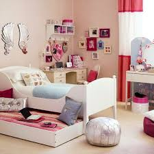 Fine Bedroom Wall Ideas For Teenage Girls Beautiful Decor Inside Decorating