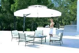 costco patio umbrella replacement canopy round cantilever
