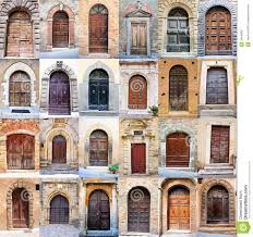 Old Door Old Door Collage Royalty Free Stock Photography Image 34640867