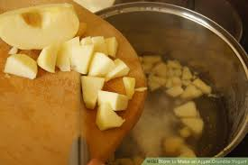 apple yogurt. image titled make an apple crumble yogurt step 3 i