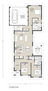 brilliant narrow lot house plans single story awesome to do one story house plans for narrow lot 13 single on